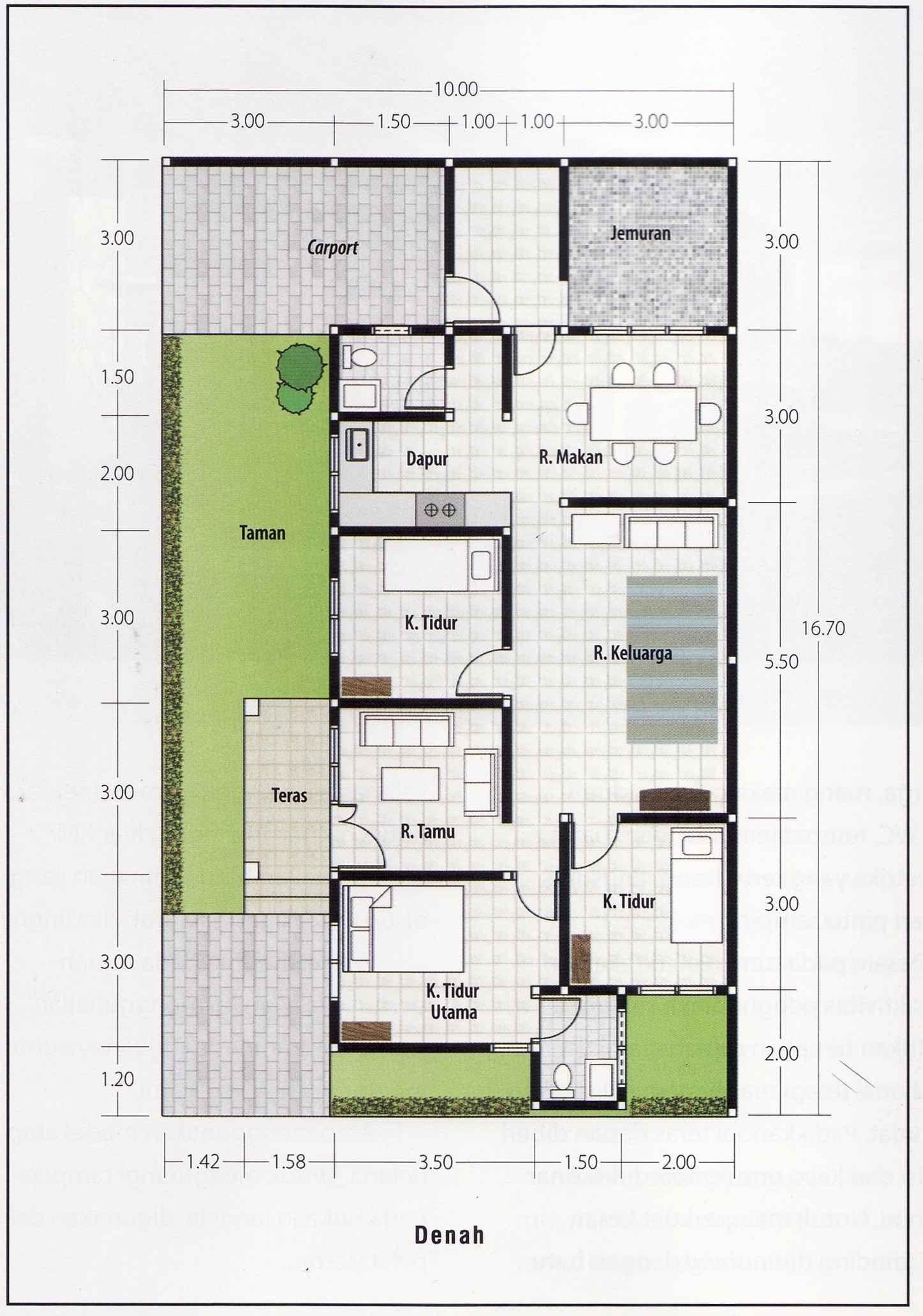 ❤92 Gambar 7 Gambar Desain Dan Denah Rumah Minimalis Modern