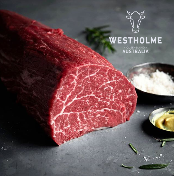 Westholme Wagyu Tenderloin Has An Incredible Marbling In 2020 Food Suppliers Australian Beef Australian Wagyu