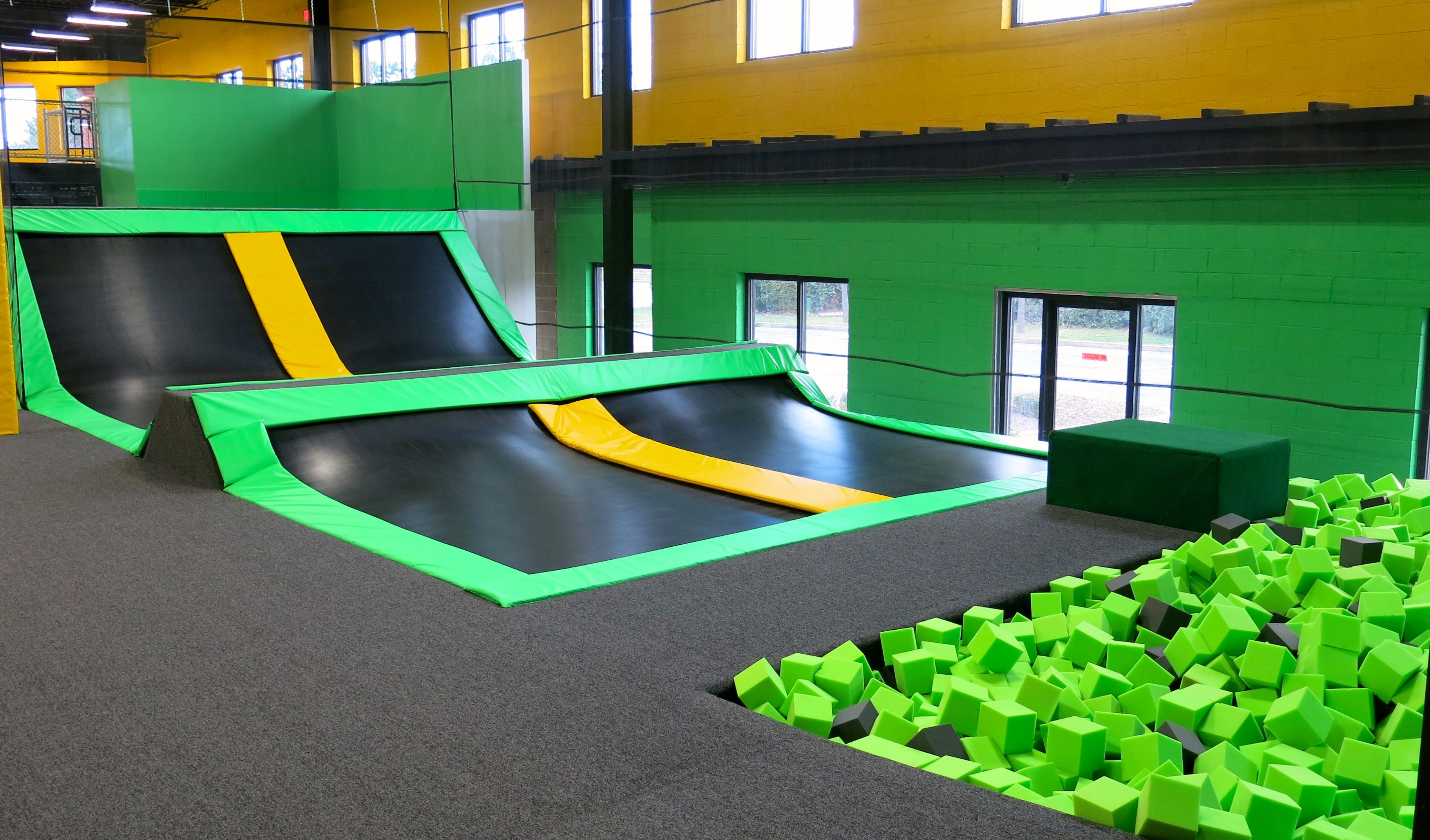 2 Hours of Open Jump at the NEW! Get Air Trampoline Park