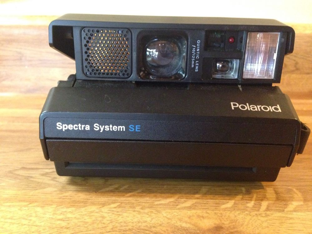 vintage polaroid spectra af instant camera with box and manuals rh pinterest com Polaroid Spectra System Film Polaroid Spectra 2 Film
