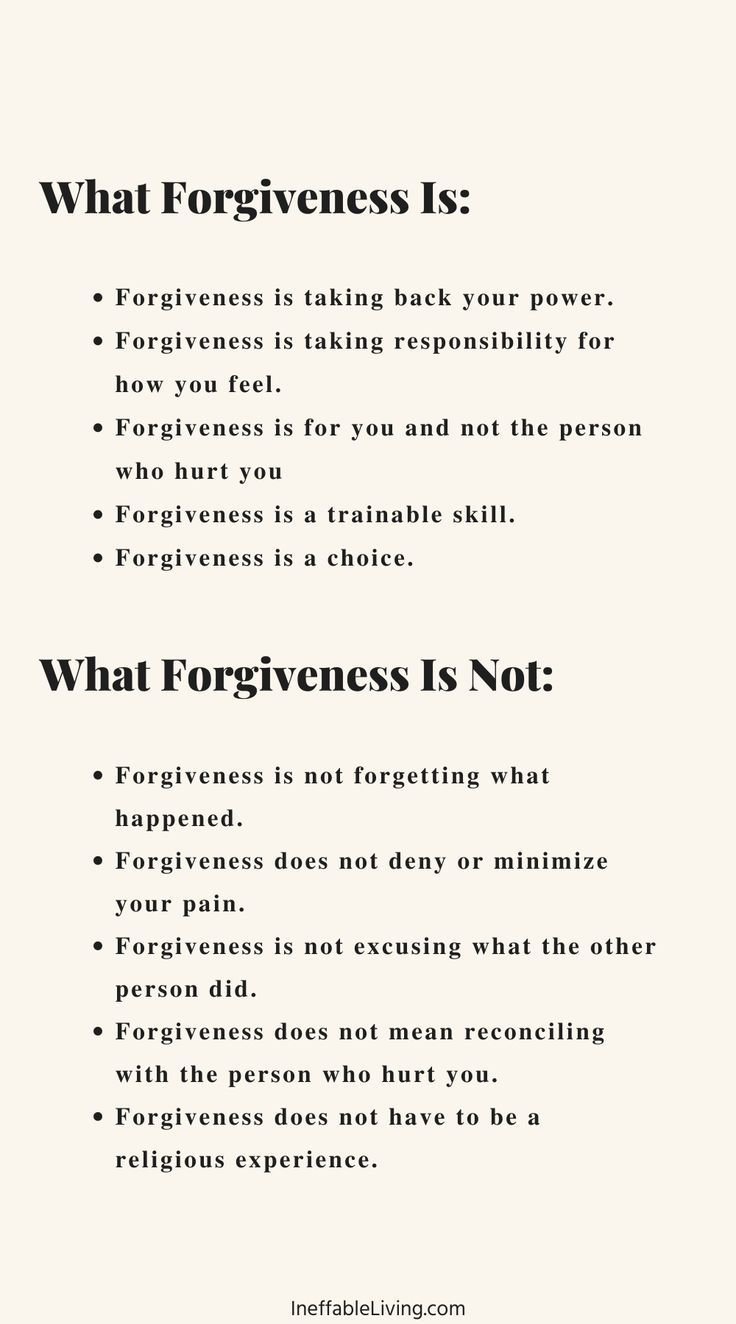 How To Forgive And Free Yourself From Resentment And Bitterness?
