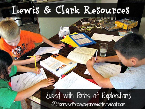 Right now we are knee-deep in our Lewis and Clark study with Paths of Exploration. I have written before about how much we are enjoying Paths of Exploration this year. We are particularly enjoying the Lewis and Clark study. I really had no idea how important their exploration of the west was to our country. …