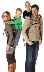 Nothing beats a piggyback ride! Tell your little ones to hop on without all of the stress on your back and shoulders with the Niloc child carrier from Piggyback Rider. With a safety harness that holds your kid in place even if he/she lets go of the back handles plus shoulder and chest straps that evenly distributes your child's weight to save mom and dad from a sore back, the Niloc child carrier by Piggyback Rider is the classic piggyback ride but with a smart, safe and comfortable new…