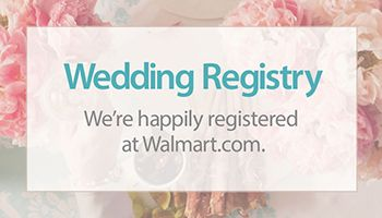 How To Create Your Walmart Registry Parent And Baby Center Walmart Com Gift Registry Cards Registry Cards Bridal Registry
