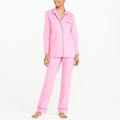 eb252c873 factory womens Long-sleeve end-on-end pajama set