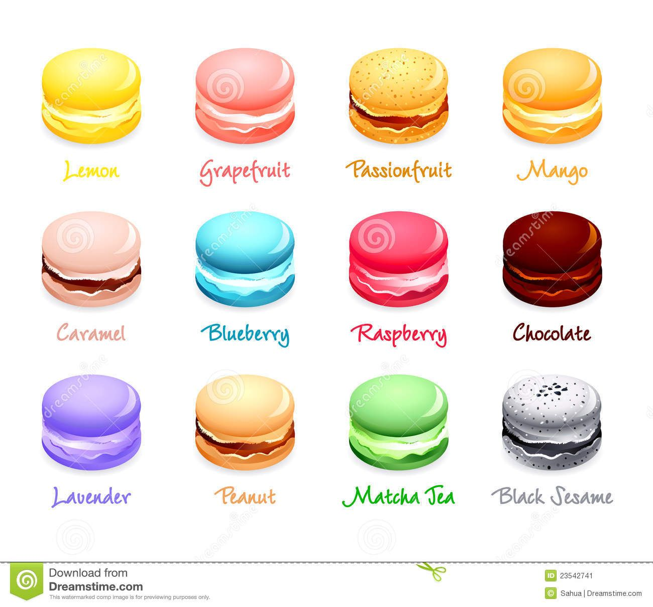 Macaron-flavors-23542741.jpg (1300×1209)