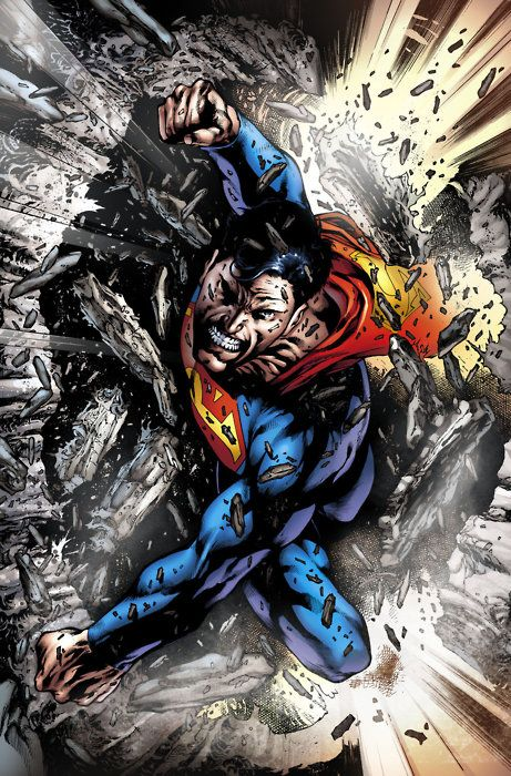 Supes Breaking Free Superman Comic Superhero Comic Superman
