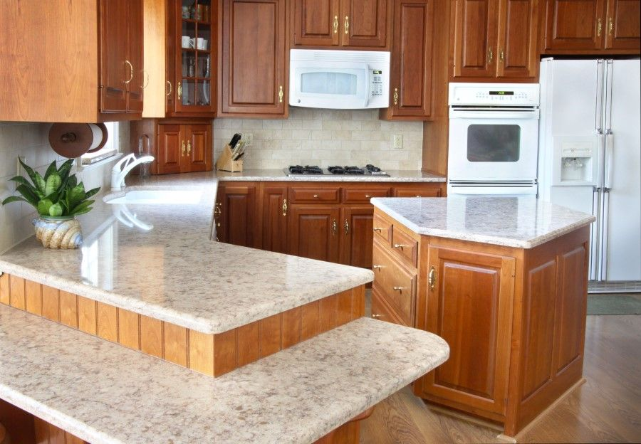 Kauffman Kitchens Installed Replacement Silestone Quartz Countertops, Tile  Backsplash, And A Blanco Silgranit Sink In A Lancaster, PA Home.