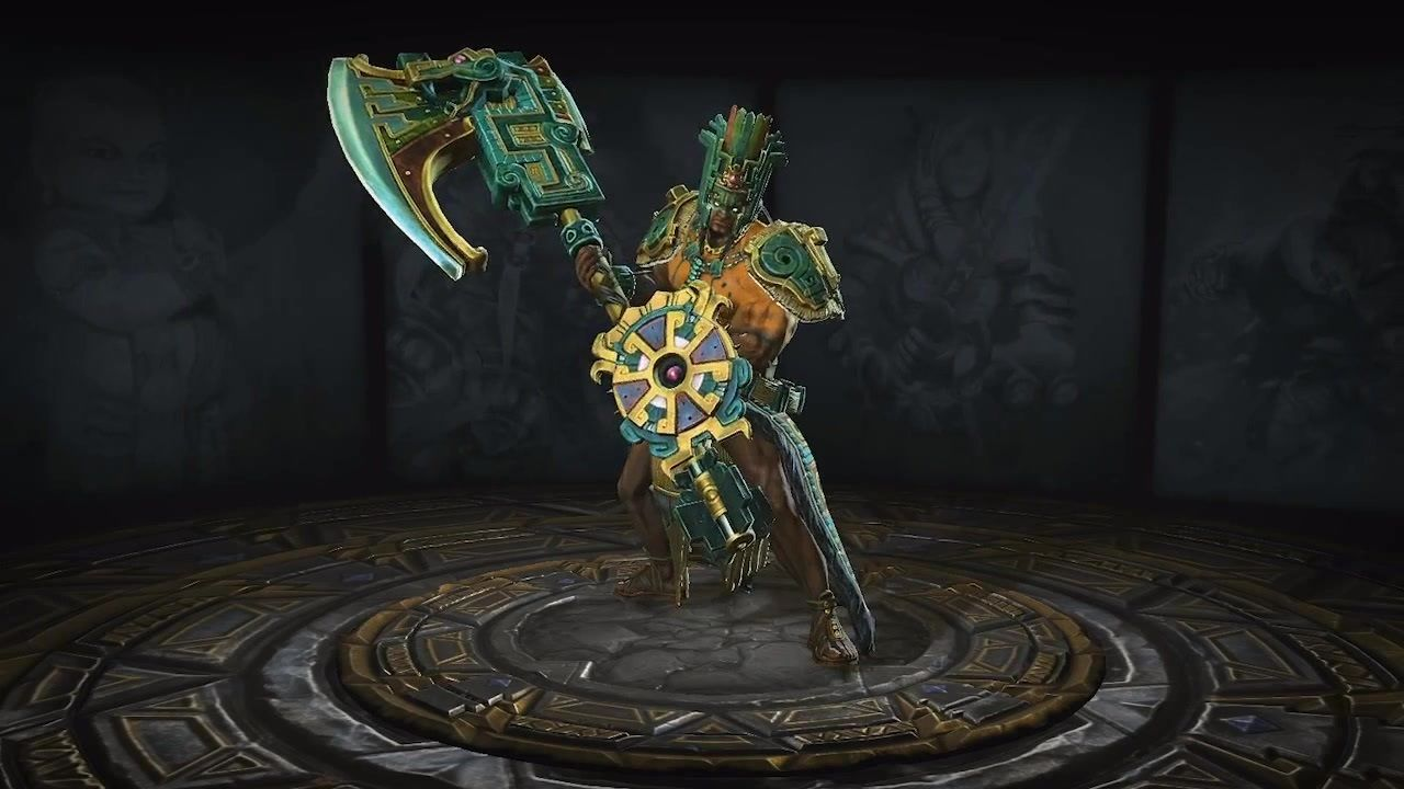 Another god from that of the game smite is that of chaac the god