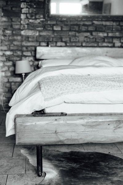 Bett Industrial designerbett bett bettgestell industrial furniture interieur