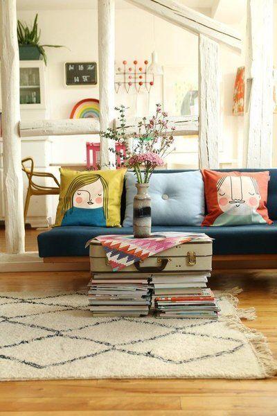 Warten auf den Frühling Die schönsten Wohnideen aus dem Februar - wohnzimmer einrichten ideen