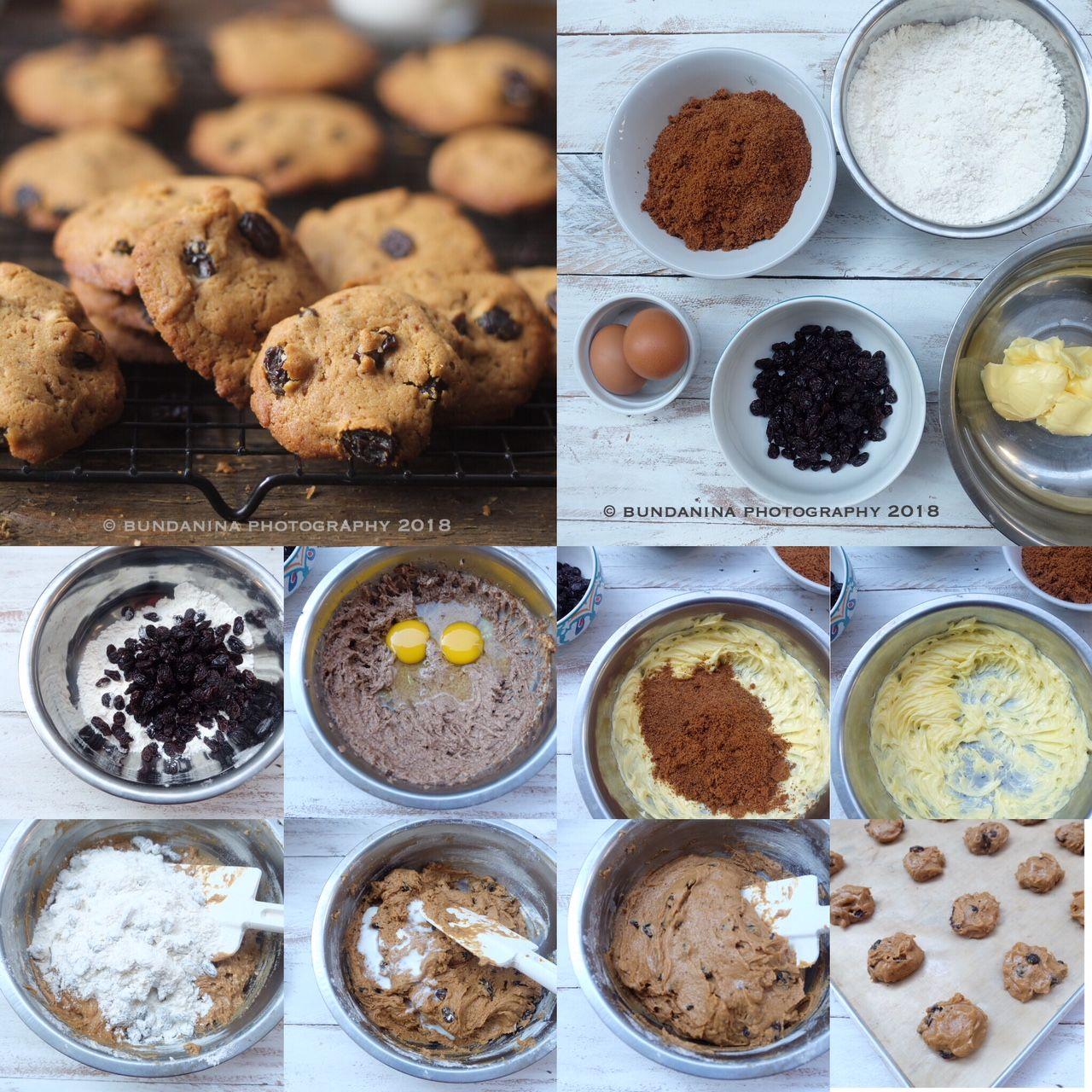 Raisin Cookies Kue Kering Kismis Catatan Nina Kue Kering Kue Lebar Kismis