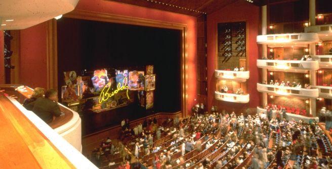 The 2 700 Seat Multipurpose Au Rene Theatre Principally Designed For Touring Shows The Florida Grand Opera Classical Music Classical Music Mezzanine Florida