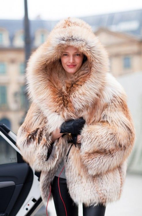 Bundle up in no other way but fur