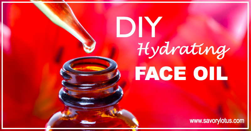 DIY Hydrating Face Oil. Very informative about all your ingredient choices. Homemade serums are wonderful DIY products.