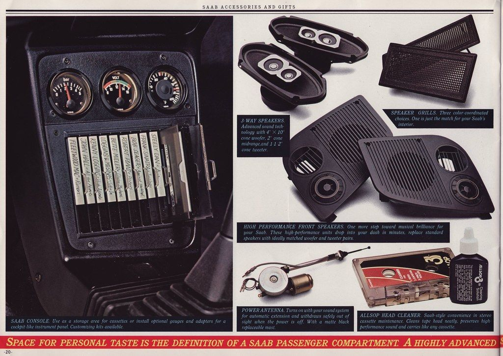 Page 20 Saab Cassette Gifts