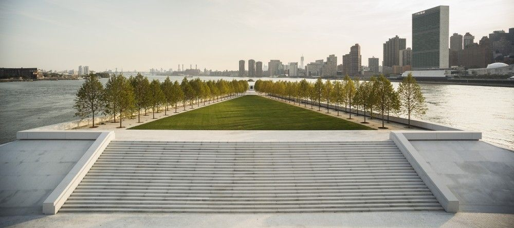 Four Freedoms Park: Louis Kahn's