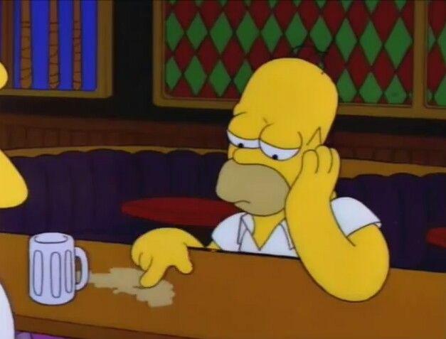 Aburrido triste no se homero simpson momentos divertidos imagenes kawai also ahre simpsons pinterest memes  caricaturas rh co