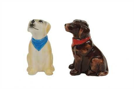 Labrador Salt And Pepper Shakers Salt Pepper Set Stuffed