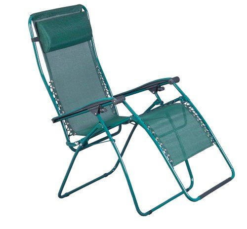 Faulkner XL Recliner Green Mesh With Padded Arms. More Details At Http://