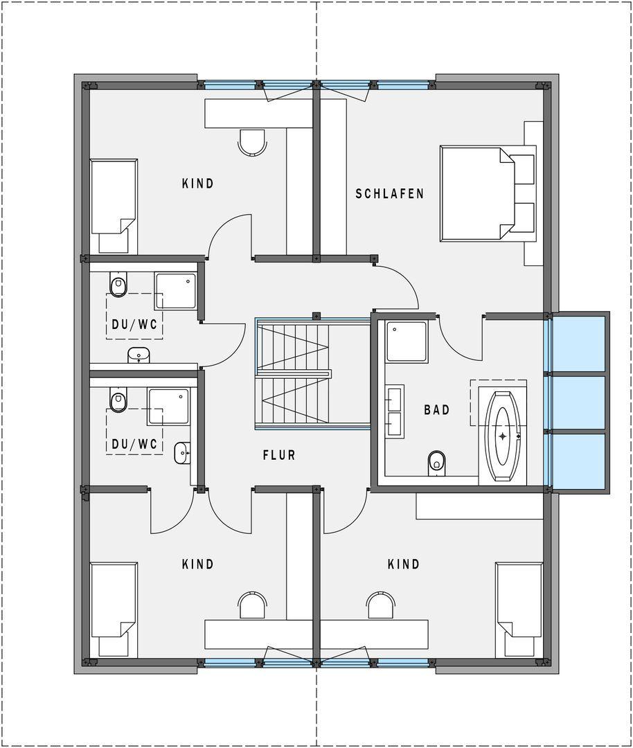 Obergeschoss wohnen pinterest fachwerkh user for Haus grundrisse beispiele