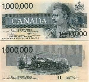 Canadian 1000 Dollar Bill Value Yahoo Image Search Results One Million Dollar Bill Dollar Fake Dollar Bill