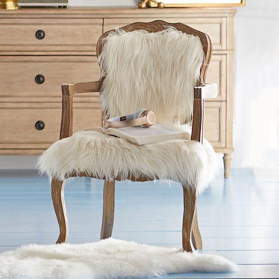 Faux Fur Ooh La La Chair In 2019 Chair Wooden Folding