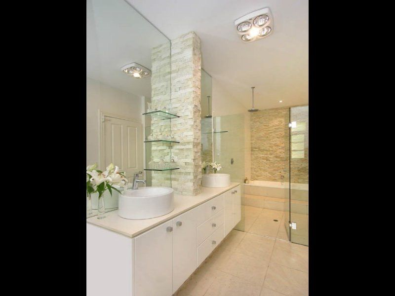 cladding | Beach house bathroom, Queenslander, Bathroom ...