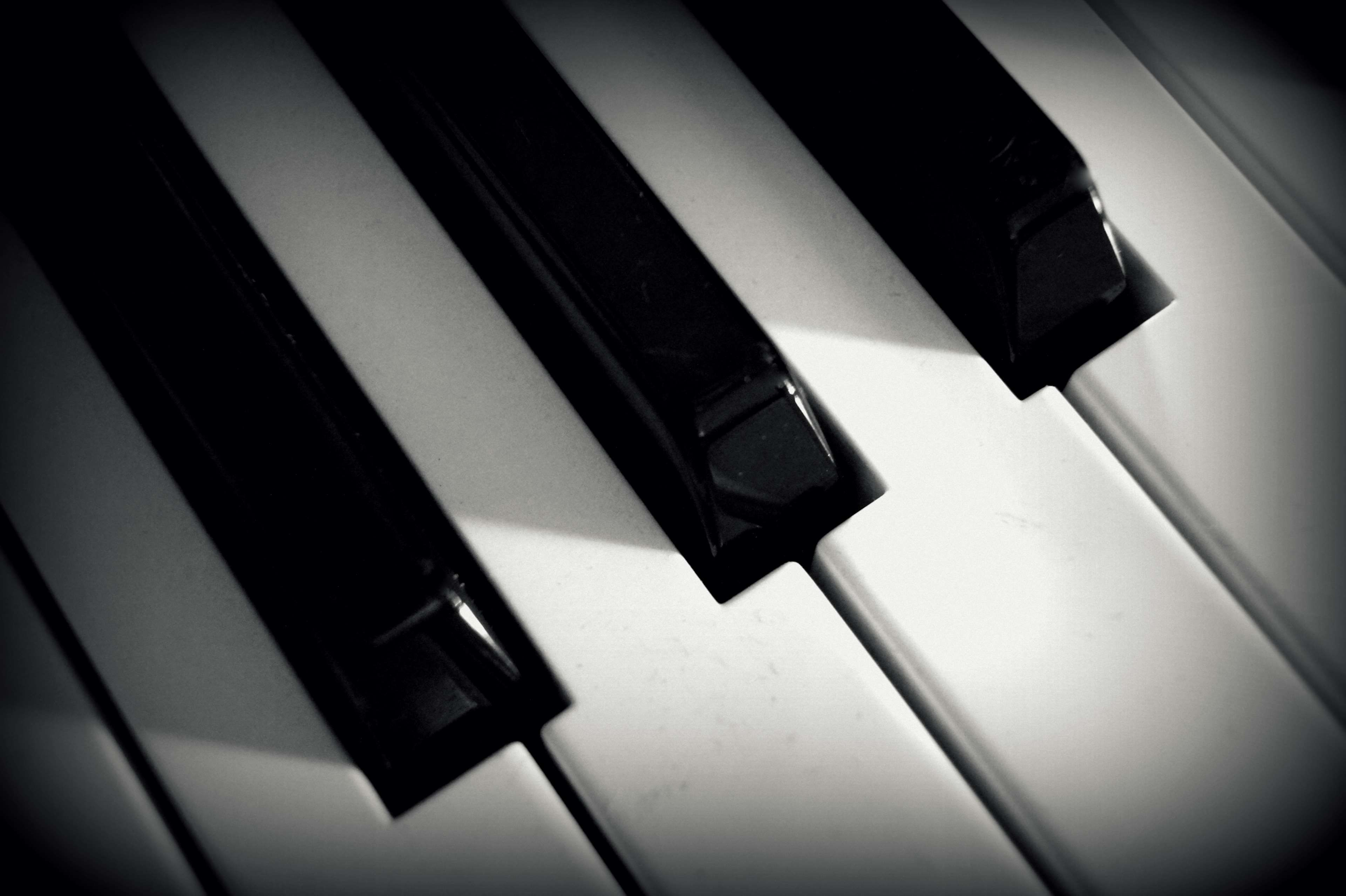 Black And White Close Up Keyboard Keys Musical Instrument Piano Piano Instruments Musicals