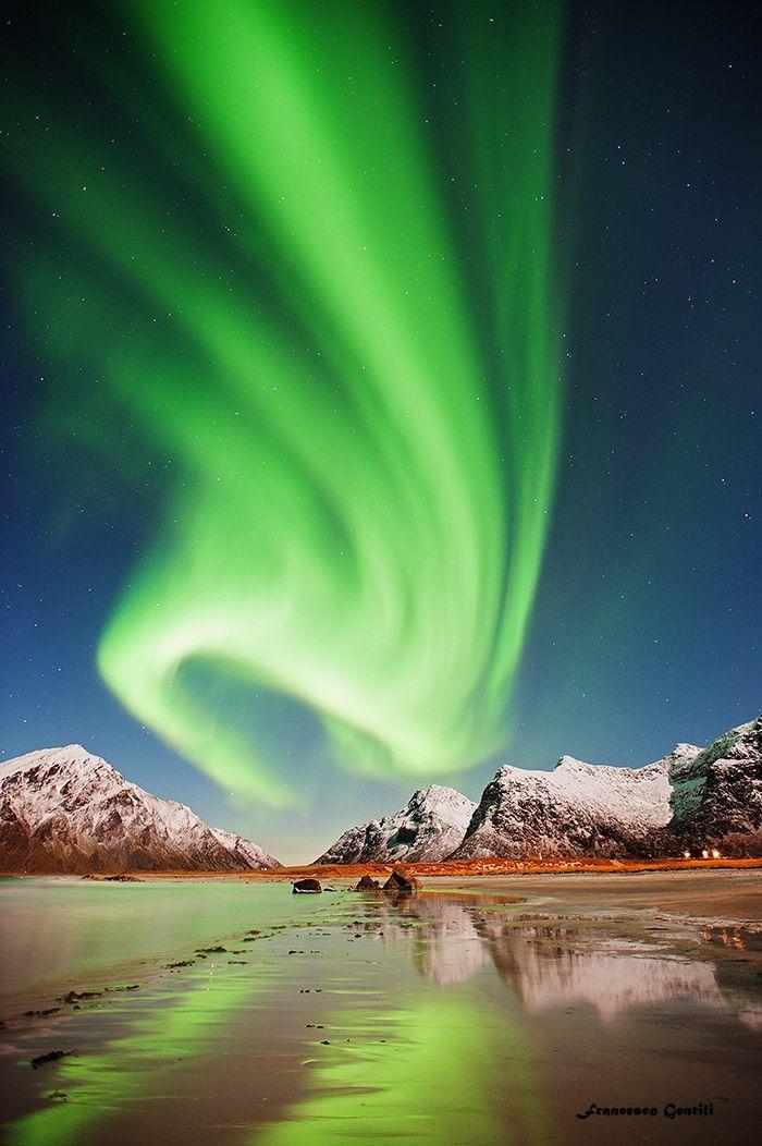 Aurora Flakstad ... Norway ~ by Francesco Gentili