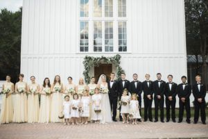 Seaside Chapel Wedding // 30A destination wedding from Leslie Hollingsworth Photography in Seaside Florida // 30a Wedding Co