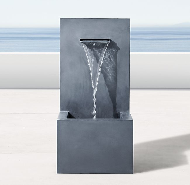 Best Weathered Zinc Wall Fountain 1 Spout In 2019 Outdoor 400 x 300