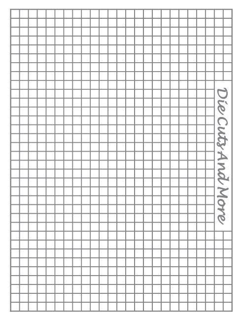 free printable  metric  grid paper for the stampoholic