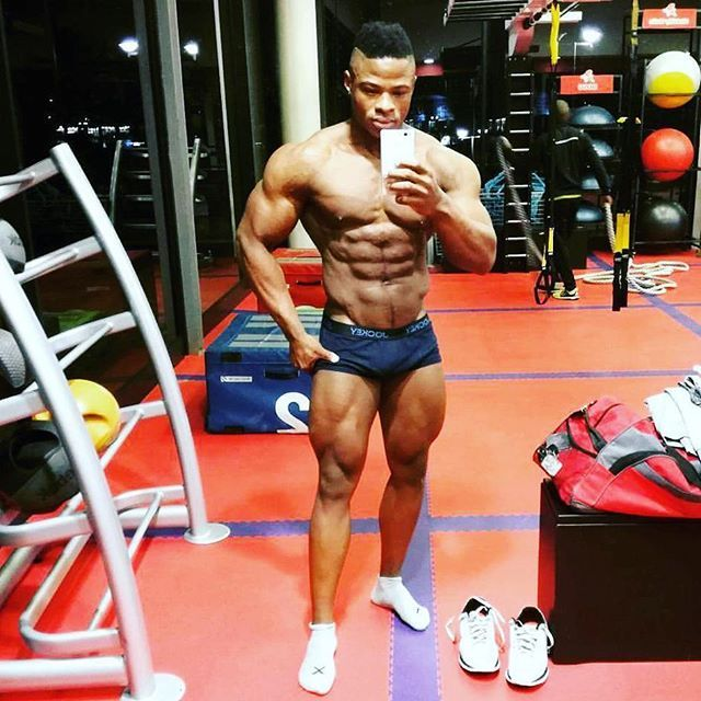 Khulekani Sibiya with such an impressive all  rounded physique!    ____________________________   #goals #compprep #nevergiveup #work #abs #bodybuilding  #motivation #fitness #shredded  #gymmotivation #fitspo  #success #fitness #bestrong #fitnish #abs  #fitbod #begreat #guyswholift #fitfluential