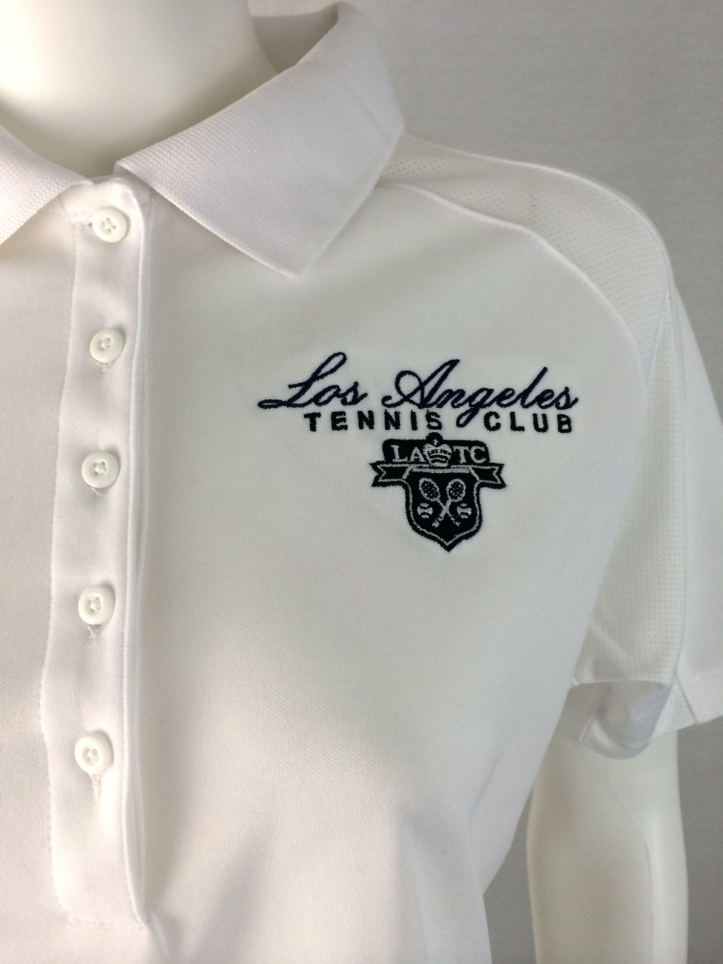 Custom Logo Polo Shirt For The Los Angeles Tennis Club The Classic