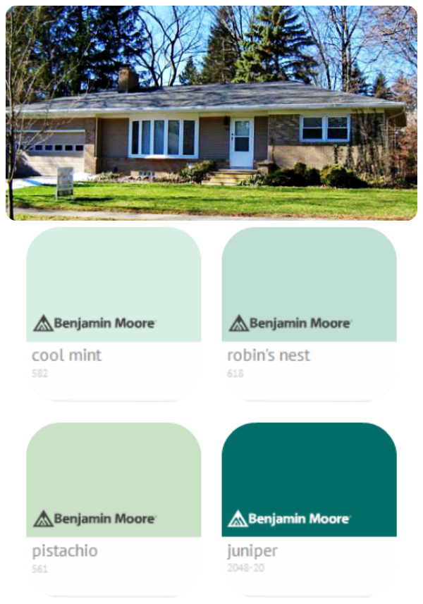 Which Color Should I Paint My Front Door Options For A Tan And Brick House She Makes Home