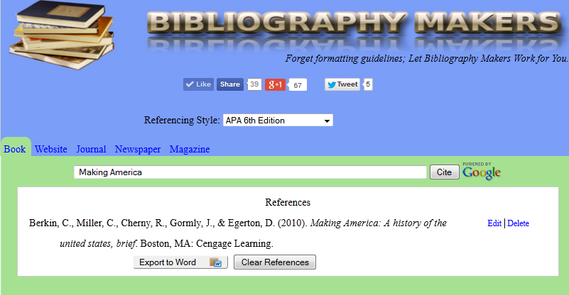 Bibliographymakers Com With Our Free Apa Citation Generator You Do Not Have To Recall Numerous Formatting Guidelines Just Sea Citation Machine Work On Yourself Literature