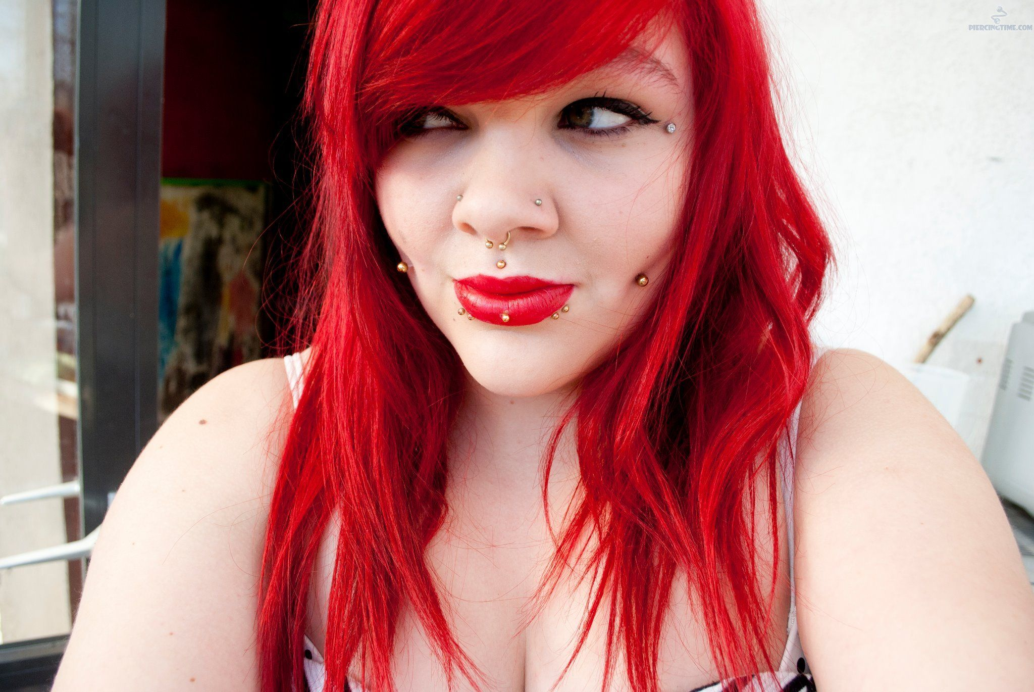 Double nose piercing and septum  Ashley Dimple Mudusa Septum Nose Piercing  Piercing u Stretches