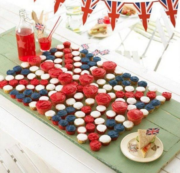 Royal Wedding Themed Desserts: British Themed Party Food €�