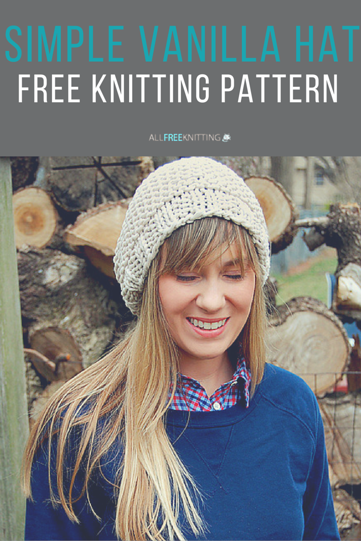 Simple vanilla hat knit hats hats and patterns cute knit hat pattern bankloansurffo Image collections
