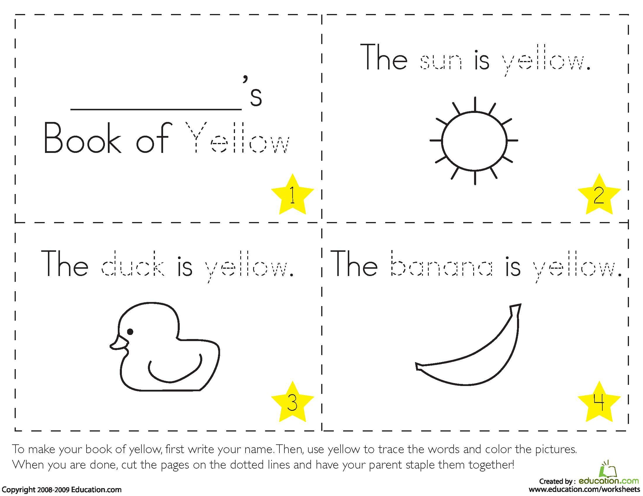 Teaching Colors Yellow