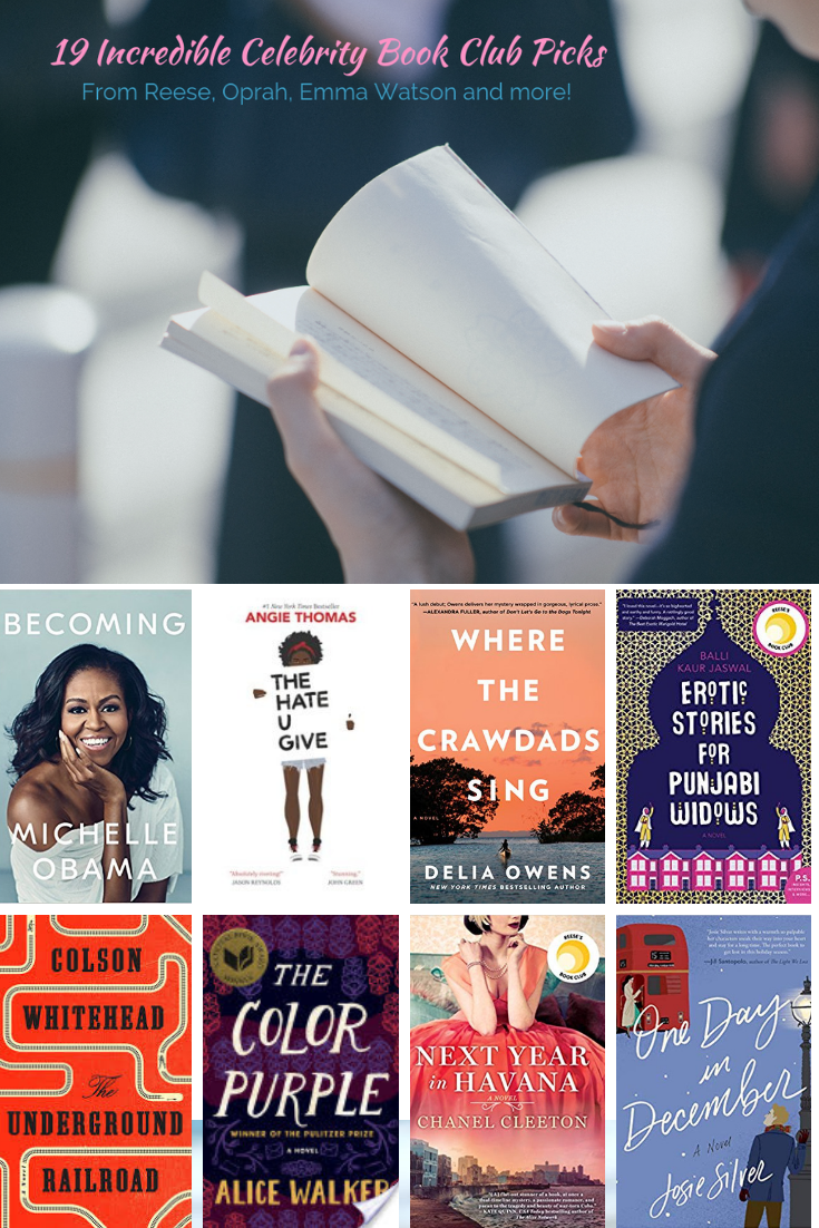 The Best Celebrity Book Club Picks Celebrity Books Book Club Books For Tweens