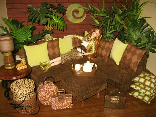 Welcome To The Jungle, 1:6 Living Room by Abigails Joy, via Flickr
