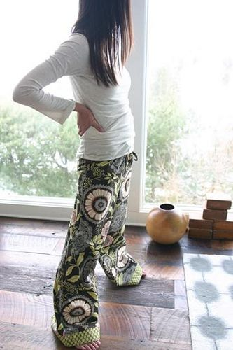 PJ's Tutorial with amy butler fabric... comfy