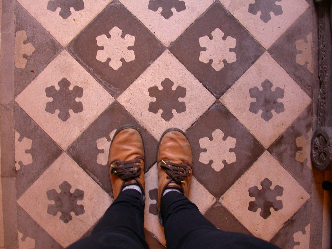 Hdraulic tiles, Porto