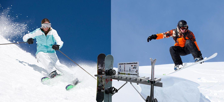 Ski And Snowboard Locks By Ski Key Ski And Snowboard Snowboard Skiing