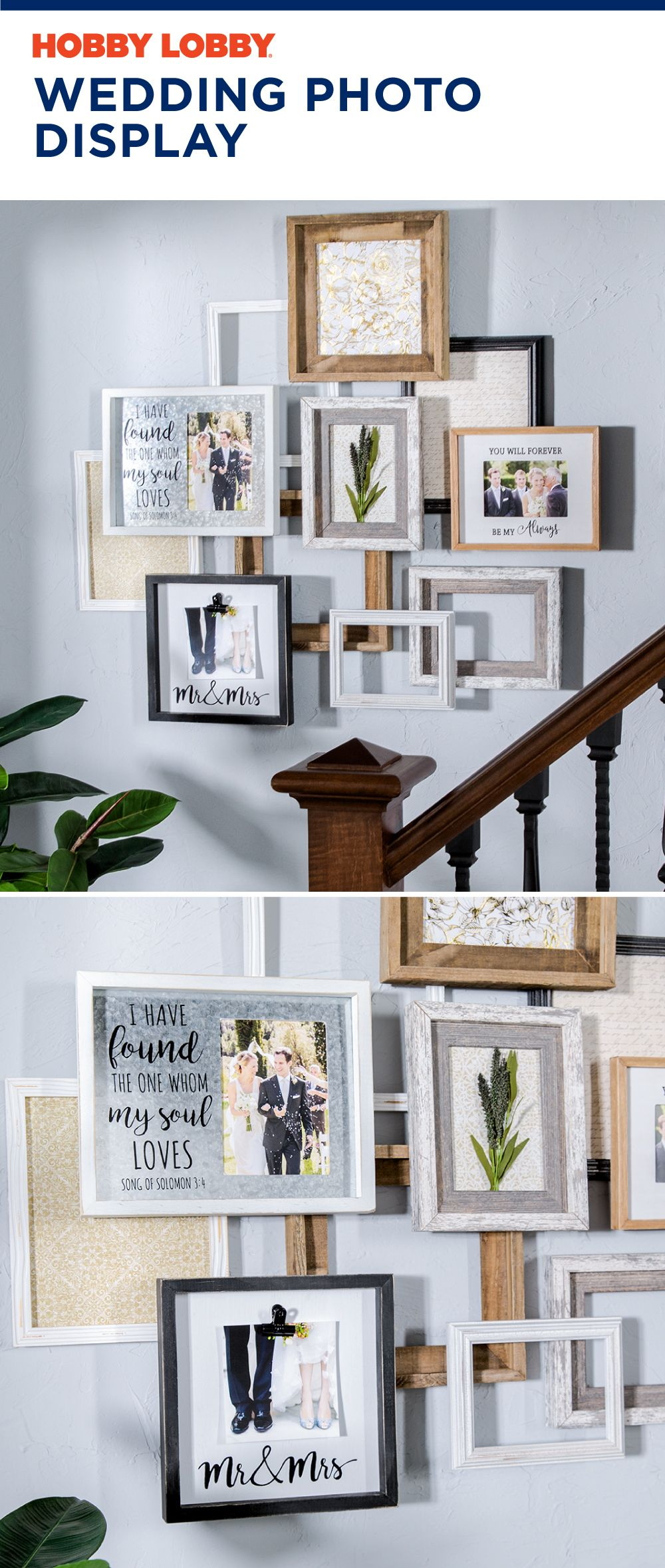 We Love Spring Weddings Custom Frames Are A Great Way To Keep Your Memories Frame Home Decor Picture Frames