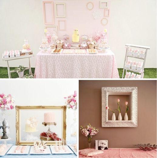 Las mejores ideas para decorar el fondo de la mesa de fiesta | Mesas ...