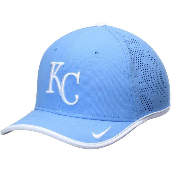 a56bf63e7a3 Men s Kansas City Royals Nike Light Blue Vapor Classic Performance  Adjustable Hat