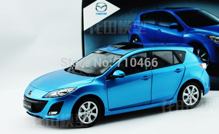 1 18 New Mazda 3 2014 Star Gallop Hatchback Diecast Model Car Mini
